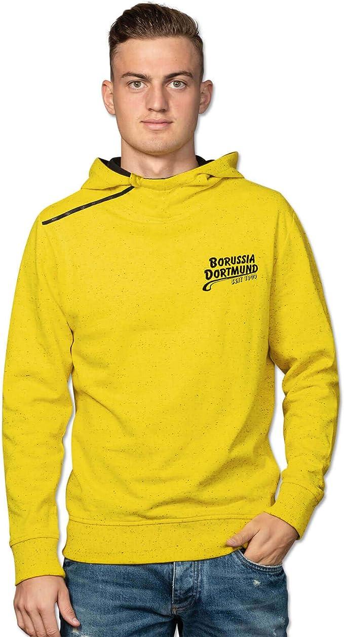 Borussia, felpa con cappuccio (giallo) : Amazon.it: Sport e tempo libero