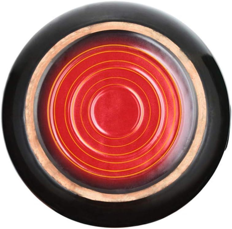 WEIZI Plat en céramique en grès avec Couvercle Health Casserole Incroyable Garde la marmite à Chaleur Marmite à Cuisson Lente - Résistance aux températures élevées Noir-5.5L Beige