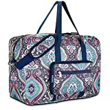 Best Carry On Bag For Women - Travel Foldable Waterproof Duffel Bag - Lightweight Carry Review