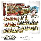 WAR-151510001 - Juegos De Warlord - SPQR - Set De Inicio De Choque De Héroes