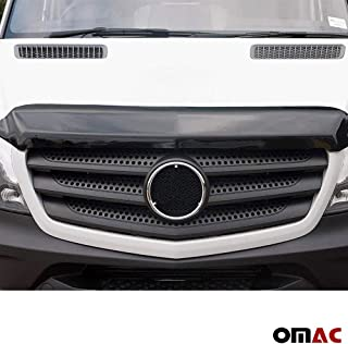 OMAC USA Front Bug Shield Hood Deflector Guard Bonnet Protector for Mercedes Sprinter 2014-2018