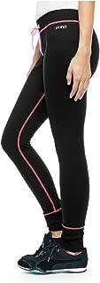 Juicy Couture Sport ThermoCool Pants/Leggings, Medium Black/Hot Pink
