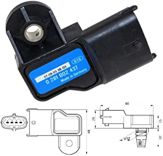 3 Boost Bar original MAP Sensor for Opel Vauxhall Astra G H Signum Vectra C Zafira 1.3 1.9 CDTI 73503657 0281002845 0281002437