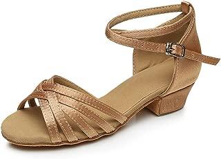 Cdso 3 Colors Girls Latin Dance Shoes Ballroom Salsa for (Little or Big Kid)