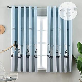 GWFVA Rideaux de fenêtre occultants pour Enfants, Rideaux Modernes Simples avec Impressions, pour crèche, Rideaux occultan...