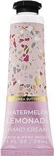 Bath and Body Works WATERMELON LEMONADE Shea Butter Hand Cream 1.0 Fluid Ounce (2019 Edition)