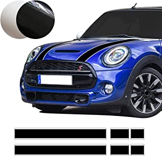 Car Styling Hood Bonnet Stripes Sticker Trunk Rear Engine Cover Vinyl Decal Stickers for..
