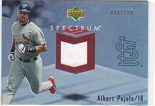 2007 UD SPECTRUM ALBERT PUJOLS JERSEY /199 CARDINALS