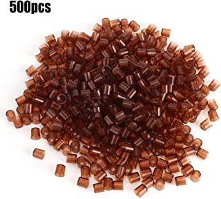 TOPINCN 500Pcs Queen Rearing Cell Cup Plastic Brown Cell Cups Rearing Honey Bee Beekeeping Supplies