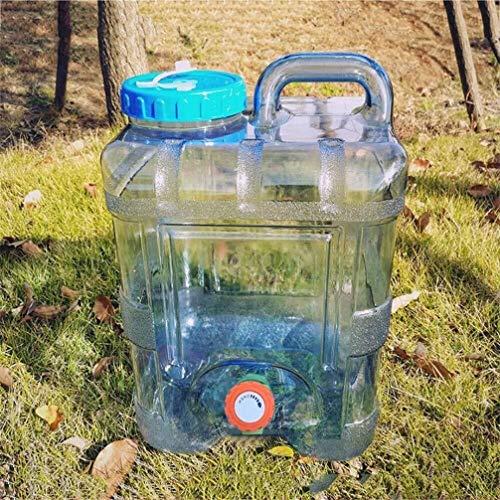 Camping Wasserbehälter Aufbewahrungstasche Behälter Wasserträger Wassereimer Außen Große Kapazitäts-Eimer Tee Eimer Griff Tragbarer (Size : 15L)