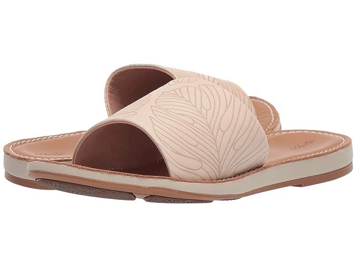Nohie 'Olu  Shoes (Tapa Monstera/Tan) Women's Shoes