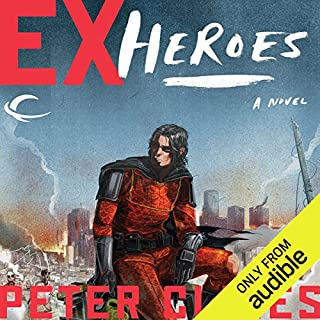 Ex-Heroes audiobook cover art