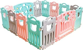Relaxbx Children S Fence  Baby Park Fence  Indoor Crawling Toddler Safety Plastic Fence