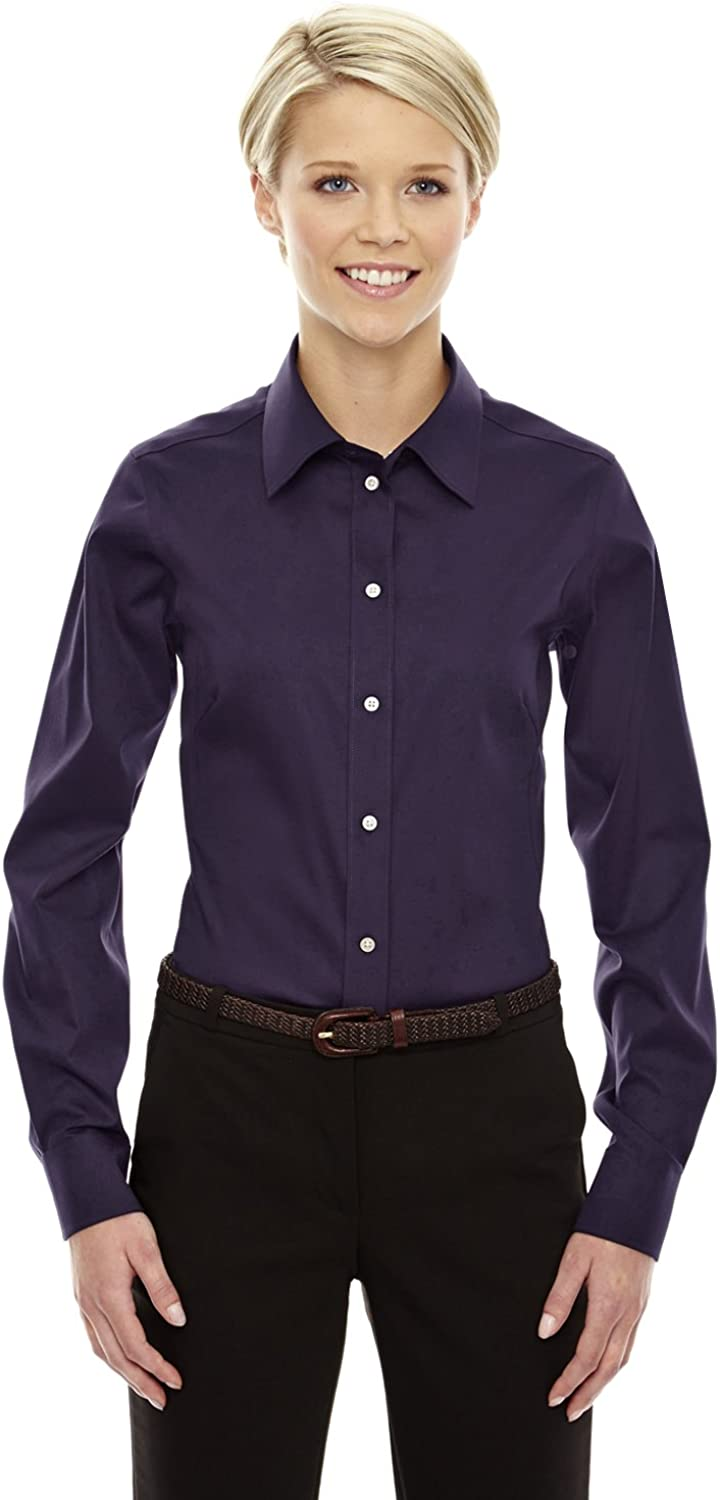 Devon & Jones Ladies Crown Collection Solid Stretch Twill
