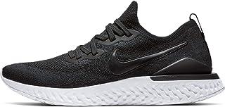 67c17ae8eb9336 Nike - Epic React Flyknit 2 Hommes Chaussure de Course (Noir/Blanc)