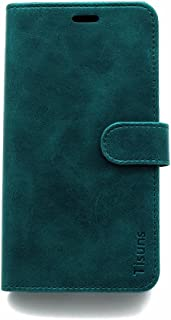 Moto Z2 Play Case,Tisuns Moto Z2 Play Leather Case, Flip Folio Book Case, Money Pouch Wallet Cover with Kick Stand for Mot...