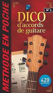 DICTIONNAIRE D'ACCORDS DE GUITARE