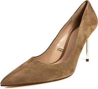 932bd0000b Zara Women's Leather Shoes with Metal Heels 1237/001