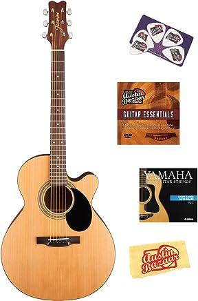 Jasmine S34C NEX Cutaway - Guitarra acústica con DVD (instrucciones (idioma español no garantizado