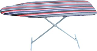 J&J home fashion Classic Heavy Use Ironing Board Cover with Pad-Brown Stripe