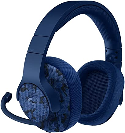Logitech G433 Cuffia con Microfono per Giochi Cablata, Audio Surround 7.1, per Pc, Xbox One, PS4, Switch, Dispositivi Mobili, Blu Camouflage - Trova i prezzi più bassi