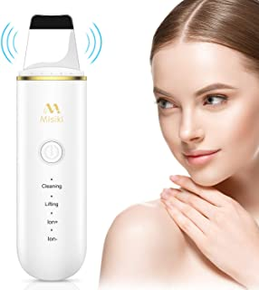Skin Scrubber, Misiki Facial Deep Cleansing and Blackhead Removal Tool, Face Skin Pore Clean and Exfoliator, Comedone Extractor, Facial Lifting Treatment