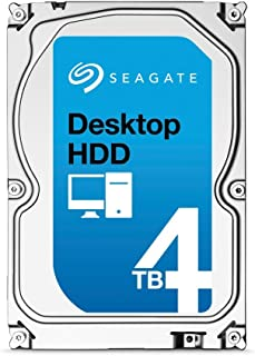(Old Model) Seagate 4TB Desktop HDD SATA 6Gb/s 64MB Cache 3.5-Inch Internal Bare Drive (ST4000DM000)