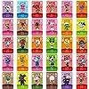 ビレジャーカード 30枚 Amibo Animal Crossing ゲームカード スイッチ/スイッチライト Wii U 3DS 収納付き