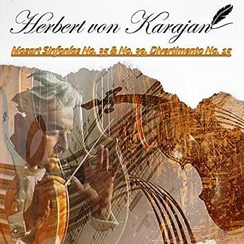 Herbert von Karajan, Mozart Sinfonías No. 35 & No. 39, Divertimento No. 15