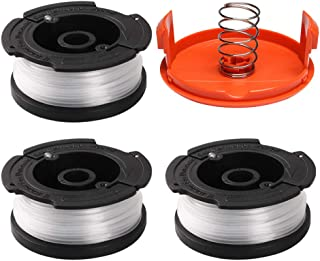 """ValueHall Replacement Spool 0.065"""" Line String Trimmer Spool Replacement 30ft for Black and Decker GH900 GH600 AF-100-3ZP ..."""