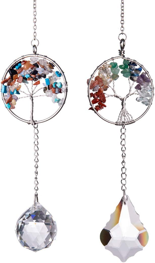 LONGSHENG - Mail order SINCE 2001 Set of Hanging Window 2 New sales Crysta Ornament