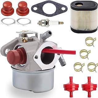 ZAMDOE Carburador 640350 para Tecumseh 640303 640278 640271 640338 LEV100 LEV105 LEV120 LV195EA LV195XA Toro 20016 20017 20018 6.75HP Recycler Motor de cortacésped