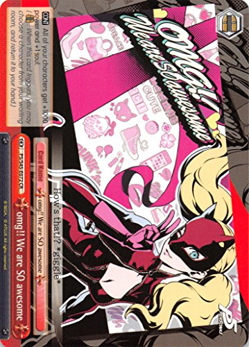 omg!! We are SO awesome - P5/S45-072 - CR - Persona 5