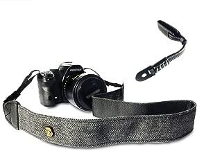 Camera Shoulder Strap and Wrist Strap Combo   Includes Neck & Wrist Straps for DSLR, SLR, Mirrorless Cameras   Sturdy & Adjustable Belt with Stylish Design