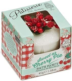 Rose & Co Patisserie De Bain Fairy Cakes & Fancies for Women, Cherry Bakewell, 1.58 Ounce