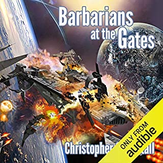 Barbarians at the Gates audiobook cover art