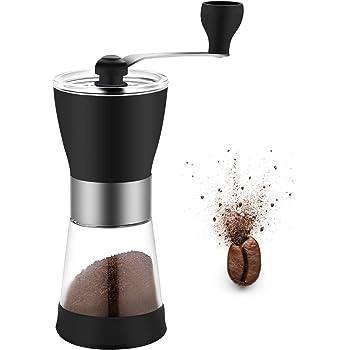 Manual Grinding Coffee Bean Milling with Adjustable Coarseness Screw Tool Manual Coffee Grinder