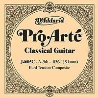 D'Addario ダダリオ クラシックギター用バラ弦 プロアルテ A-5th J4605C Composites 【国内正規品】