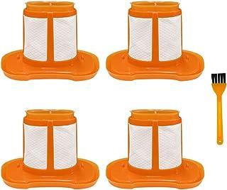 Filtro de vacío de mano para BLACK+DECKER HHVK Series-4 Pack (HHVKF10 HHVK515J00FF)