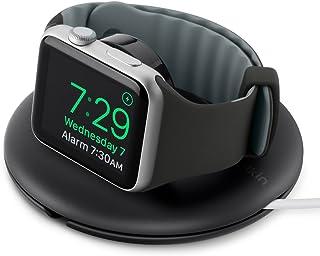 Belkin Supporto da Viaggio per Apple Watch Series Se, 6, 5, 4, 3, 2, 1, (Cavo di Ricarica Venduto Separatamente), Nero