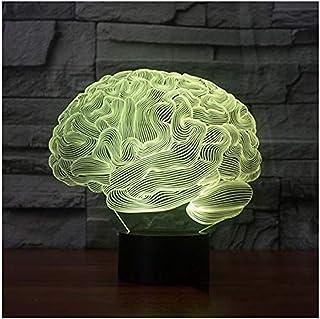 Lámpara de ilusión 3D Lámpara de estrella de la muerte 3D Lámpara de mesa que cambia de color Interruptor táctil