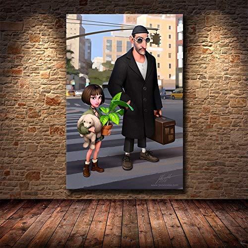 Puzzle 1000 Piezas Pintura de Arte en Blanco y Negro Profesional de Personaje de película clásica en Juguetes y Juegos Gran Ocio vacacional, Juegos interactivos familiares50x75cm(20x30inch)