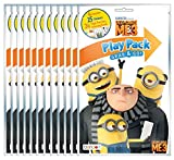 KaleidoQuest Bundle of 12 Illumination's Despicable Me 3 Grab & Go Play Packs