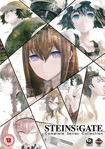 Steins Gate: The Complete Series [4 DVDs] [UK Import]