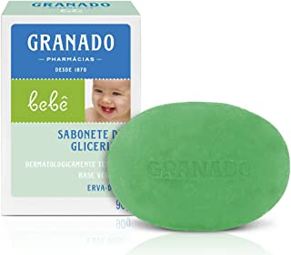 Linha Bebe Granado - Sabonete em Barra de Glicerina Erva-Doce 90 Gr - (Granado Baby Collection - Fennel Glycerin Bar Soap Net 3.2 Oz)