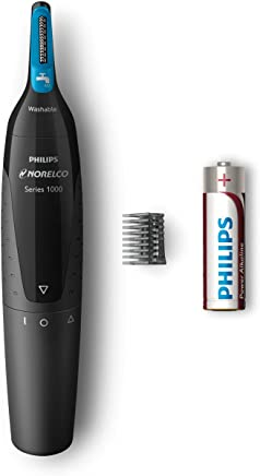 Philips Norelco Nose, Ear, and Eyebrow hair trimmer NT1500/49 - comfortable, washable, (series 1000)