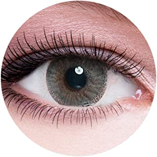 Dahab Perle Contact Lenses, Unisex Dahab Cosmetic Contact Lenses, 9 Months Disposable- Platinum Collection, Perle (Pearly ...