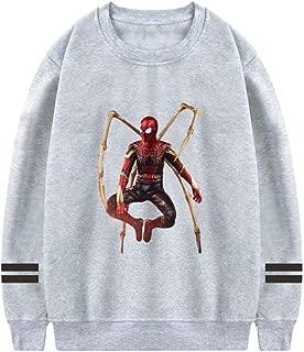 Custom Funny Long Sleeve Pullover Sweatshirt Shirt Tops for Spider Men