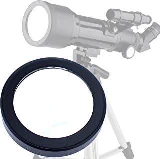 Gosky 70 80 Solar Filter -Baader Film-for Celestron 70mm 80mm Aperture Telescope for Orion ST 80 -for 70mm Travel Scope, AstroMaster 70AZ 70 EQ, PowerSeeker- Prepare for The Solar Eclipse