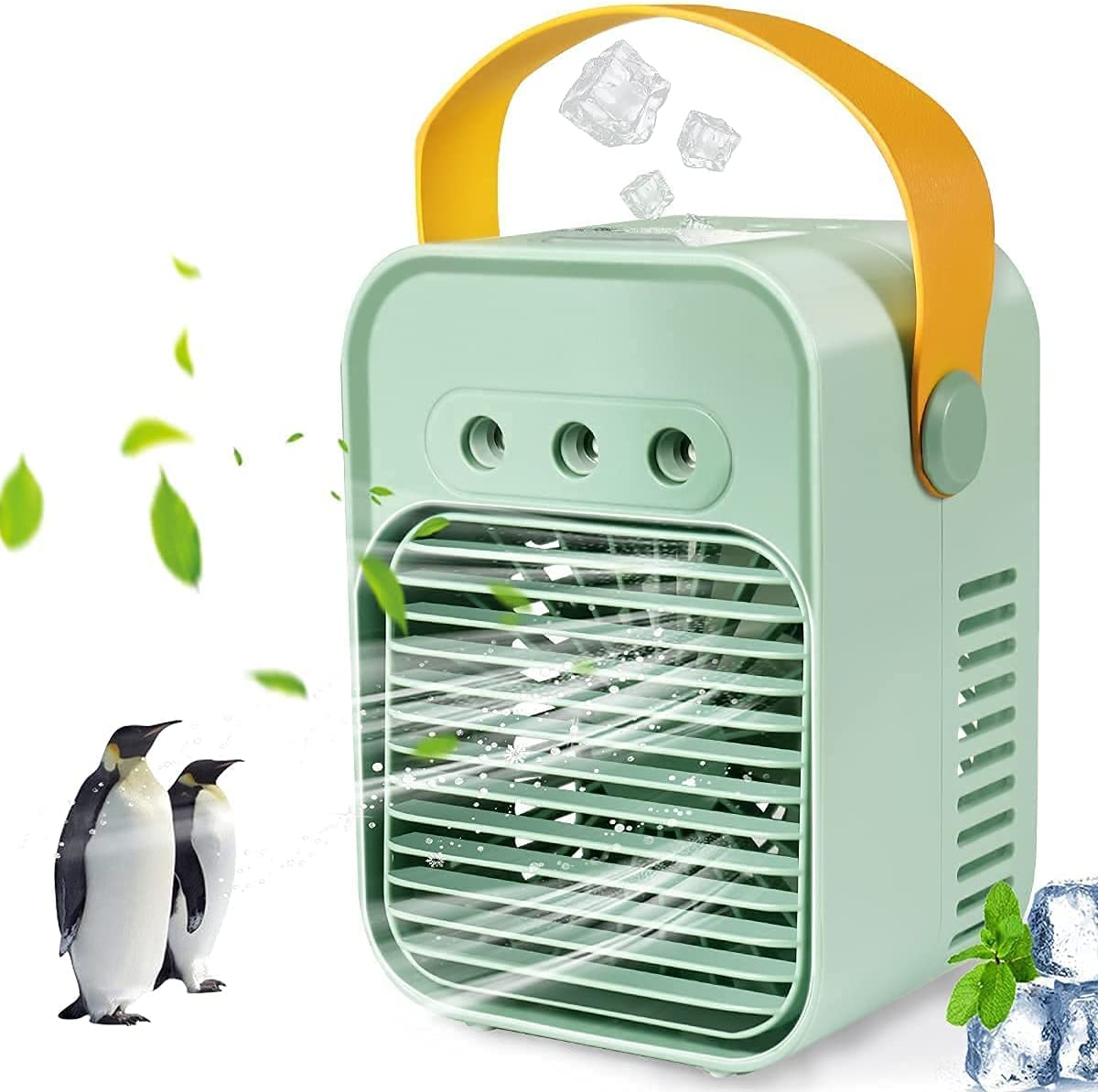 Rapid rise NEW Portable Air Conditioner 2000mAh Rechargeable Fan Atomization